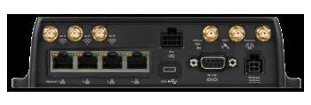 Sierra Wireless MP70 Back View