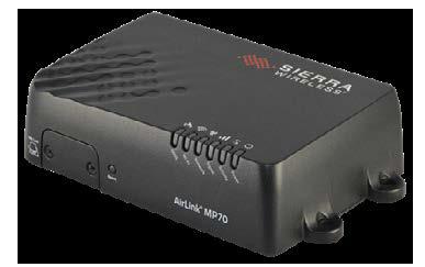 Sierra Wireless MP70 Front View